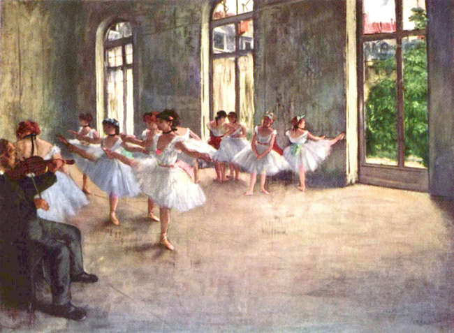 project kunst en 50 jaar ballet in Prins Dries - Edgar Degas