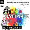 affiche Olympiade Run