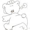 beer legt een ei