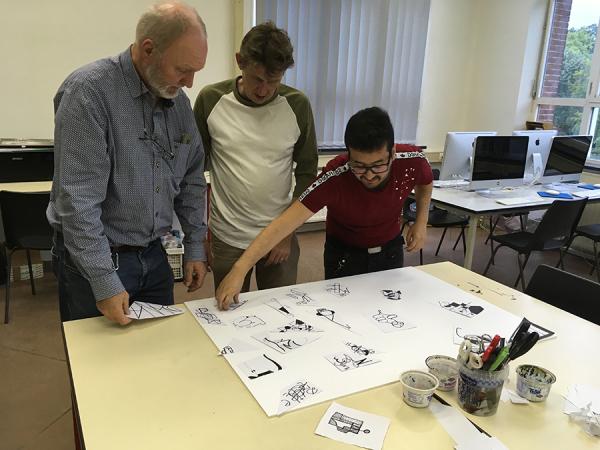 Volwassenen * atelier oriëntatie digitaal afbeelding 21
