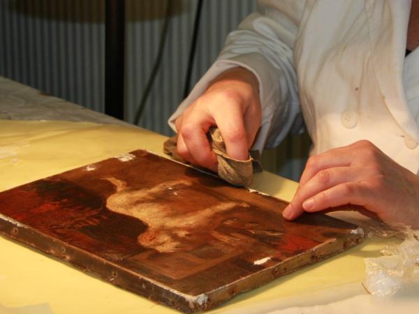 Restauratieschilderen  afbeelding 2
