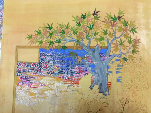 Restauratieschilderen  afbeelding 5