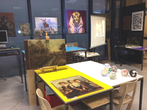 Restauratieschilderen  afbeelding 10
