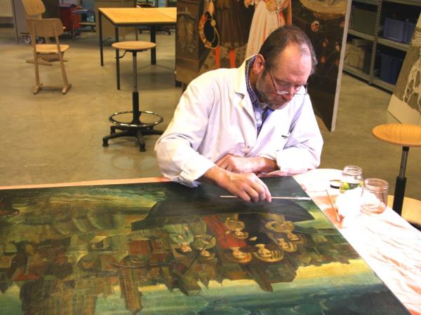 Restauratieschilderen  afbeelding 32