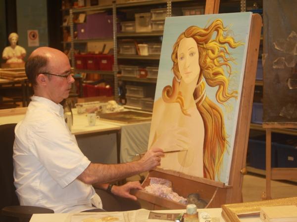Restauratieschilderen  afbeelding 16