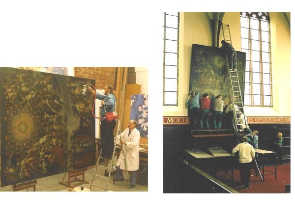 Restauratieschilderen  afbeelding 28