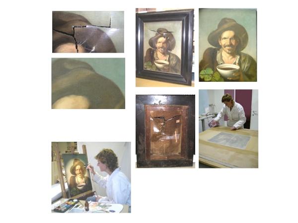 Restauratieschilderen  afbeelding 29