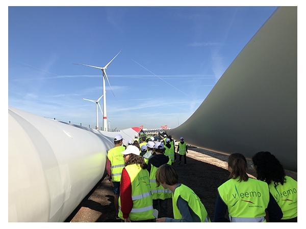 Bezoek windmolenpark  afbeelding 6