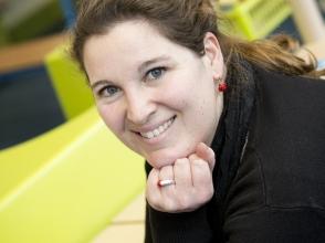 Iris Bolsens, leerkracht in Stedelijke Basisschool de Sterrenkijker