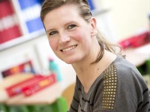 Jenny Oeyen, leerkracht 2e leerjaar stedelijke basisschool De Sterrenkijker