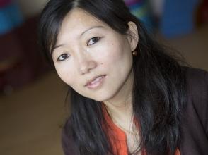 Dolma Choetso, mama van Dechen van stedelijke basisschool de Toverboom