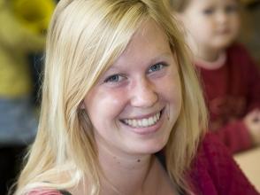 Mara Sluis van stedelijke basisschool de Toverboom