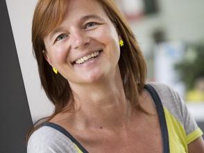 Nikki Cappaert, leerkracht in Stedelijk Lyceum Olympiade