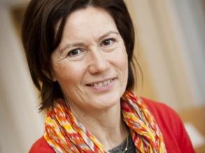 Line Machiels, directeur van Stedelijke Basisschool Het Vosje