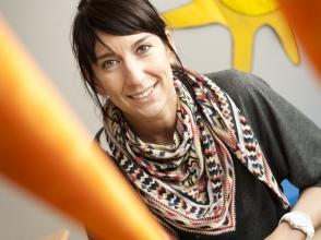 Sally Talboom, kleuterjuf in Stedelijke Kleuterschool Studio Dynamo