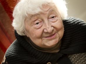 Jeanne Brabants, oprichter van de balletafdeling van Stedelijke Baisschool Prins Dries