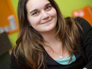 Liliane Verley, leerling van Stedelijke Middelbare school CDO Noord
