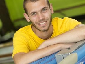 Joery, leerkracht van Stedelijk basisschool De Zwemschool