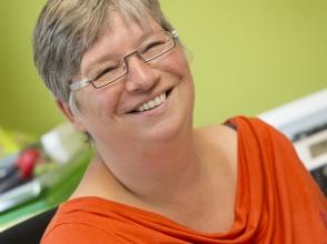 Liliane Rombouts, directeur van Stedelijke Basisschool De Zwemschool