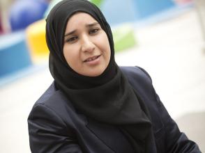 Saïda El Moussaoui, mama van een leerling uit Stedelijke Basisschool het Talent
