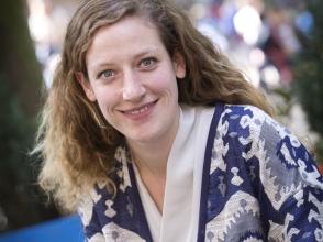 Fien Van Looy, juffrouw in de 1ste kleuterklas in Stedelijke Basisschool De Wereldschool en de Kleine Wereld