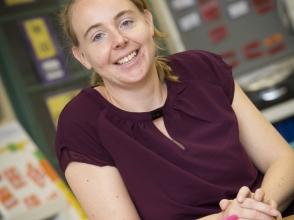 iris Wouters, leerkracht in Stedelijke Basisschool EXPO 34