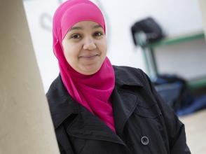 Nadia Haouhaou,mama van Soufiane en Oumaima, uit Stedelijke Basisschool Expo 34