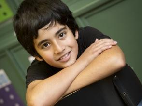 Sodir Yuksel, leerling van Stedelijke Basisschool Expo 34