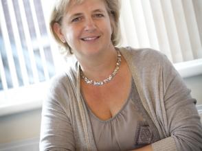 Saskia Van Hoeylandt, directeur van Stedelijke Basisschool Leopold 3
