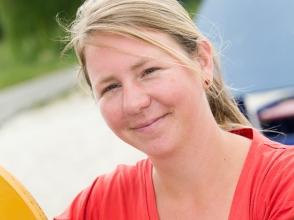 Cecile Van Mieghem, van stedelijke basisschool de schroef
