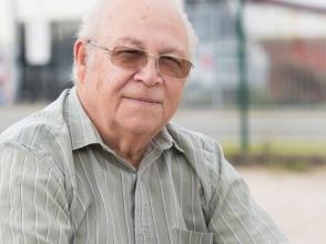 Jean Willems, opa van kinderen van stedelijke basisschool de schroef