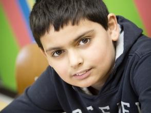 Massir El Badri, leerling 5e leerjaar van Stedelijke basisschool Creatopia