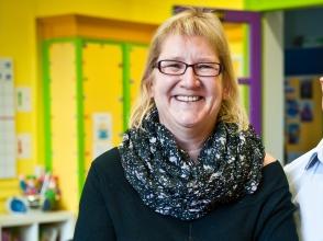 Marleen Geeraerts, van stedelijke basisschool De Esdoorn