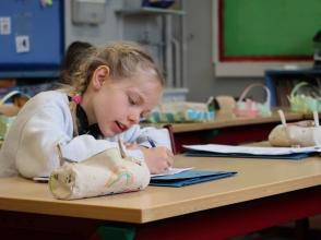 Loïse, leerling van Stedelijke Basisschool De Kolibrie