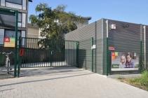 afdeling Herentalsebaan, ingang