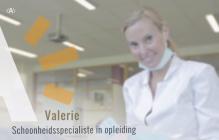 Valerie, schoonheidsspecialist in opleiding