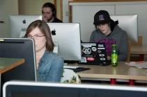 cursisten leren webgames maken