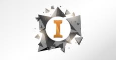 logo Autodesk Inventor met 3D patroon