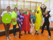 Kleuterschool de juffrouwen als fruit