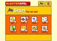afbeelding van het startscherm van Kleuterspel