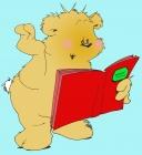berenjuf leest voor uit een boek