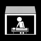 Pictogram logistiek assistent