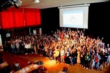 groep ondersteuners lanceert NOA foto: Jef Vanhove