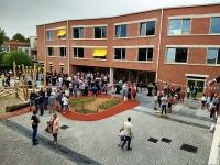 Speelplaats en nieuw gebouw Basisschool Het Vliegertje