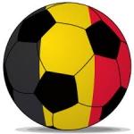 voetbal in de belgische driekleur