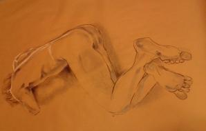 Modeltekenen, klas van Susan Fierlafijn