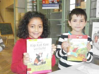 de bibliotheek op stedelijke basisschool de tandem