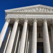 Het hooggerechtshof van de Verenigde Staten.
